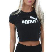 6e4a393681 Cropped Puma Tape Logo Cotton Preto - Original + Nfe Anúncio com variação