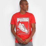 596ca1cf48 Camiseta Puma Track Tee Masculina - Vermelho