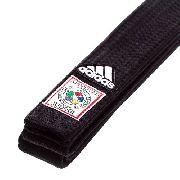 Faixa Preta Adidas Judo com Selo Vermelho F I J - 2,80