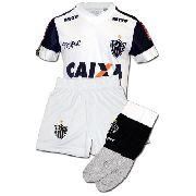 Conjunto Infantil Oficial Atlético Mineiro Branco 2018