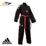Kimono dobok Preto Adichamp Taekwondo Adidas 2017 - 1,90