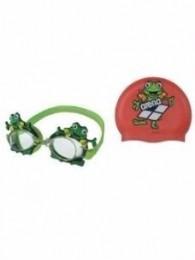 Kit Infantil Touca + Óculos Sapinho - Arena