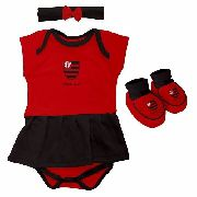 d8fd85a0859627 Body Infantil Feminino Torcida Baby - Flamengo