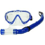 Kit Infantil Máscara Snorkel Oasis Azul - Mormaii