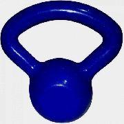 Kettlebell Emborrachado Polimet Azul Marinho - 4Kg
