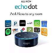 Echo dot Alexa Amazon(2ª Geração)Smart Home Preto