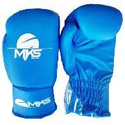 Luva de Boxe Infantil Mks Azul - 8 Oz