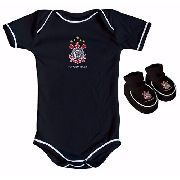 Body Infantil Masculino Torcida Baby - Corinthians - GG