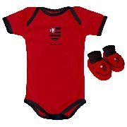 Body Infantil Masculino Torcida Baby - Flamengo