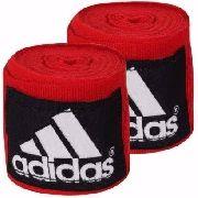 Bandagem Elástica Adidas - 5Cm X 4,55M - Vermelha
