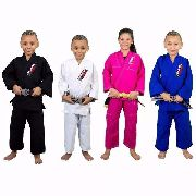 Kimono Infantil - Refor. Judo / Jiu-Jitsu - Brazil combat