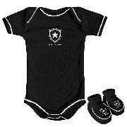 Body Infantil Masculino Torcida Baby - Botafogo