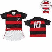 d743e61e38ee72 Conjunto Infantil do Flamengo - Torcida Baby