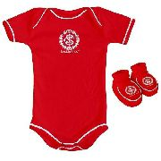 Body Infantil Masculino Torcida Baby - Internacional - GG