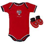 Body Infantil Masculino Torcida Baby - São Paulo - GG
