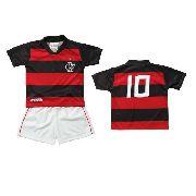 Conjunto Infantil do Flamengo - Torcida Baby - G