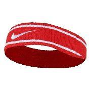 Testeira Dri-Fit Headband - Nike - Vermelha\Branca