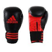 Luva Boxe Adidas Power 100 - Preto / Vermelho