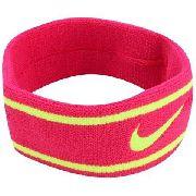 Testeira Dri-Fit Headband - Nike - Framboesa\Neon