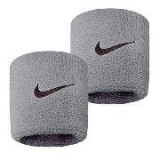 Munhequeira Peq Swoosh Wristband - Nike - Cinza
