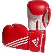 Luva Boxe Adidas Training Glove Diagonal Vermelha