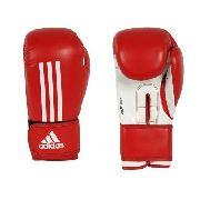 Luva Boxe Adidas Energy 100 -16 Oz- Vermelho / Branco