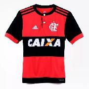 Camisa Infantil do Flamengo - Oficial 2018 - Adidas