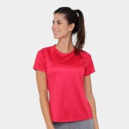 Camisa Feminina Adidas D2M Solid - Rosa