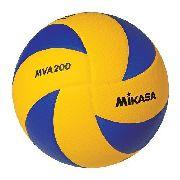 Bola Mikasa Voleiball de Couro Sintetico Mva 200