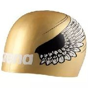 Touca de Silicone Arena Poolish Moulded Gold\Wings