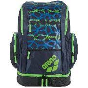 Mochila Arena Spiky 2 Backpack Spider Pr\Verde\Az- Original