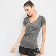 Camiseta adidas Mf Egb 3s Feminina - Cinza - Original