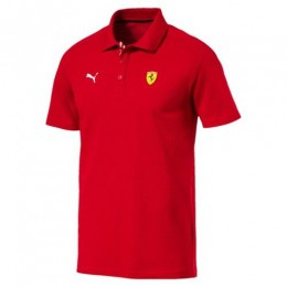 Camisa Ferrari Puma Sf Polo Rosso Corsa Motorsport - Original