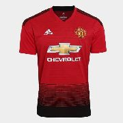 c1cce35749821 Camisa Manchester United 2018 19 adidas Original + Nfe