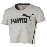 Cropped Puma Tape Logo Cinza - Original 2018