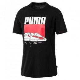 Camiseta Puma Sneaker Tee Masculina - Preta