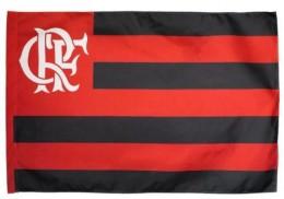 Bandeira 2 Panos Flamengo - Myflag