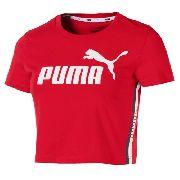 Cropped Puma Tape Logo Vermelho- Original 2018
