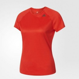 Camisa adidas Feminina Folgada D2m - Vermelha