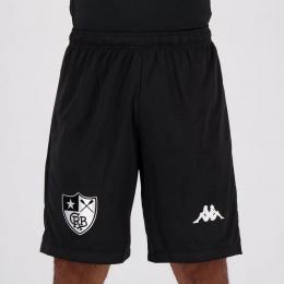 Bermuda Botafogo Jogo II Kappa - Masculina Preta