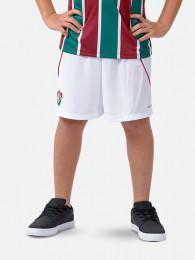 Bermuda Braziline Infantil Fluminense - Branco
