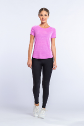 Blusa Sportif Impulse - Live - Acid Purple