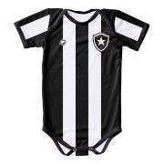 Body Infantil Botafogo Proteção UV Listrado Oficial Torcida baby