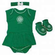 Body Infantil Feminino Torcida Baby - Palmeiras
