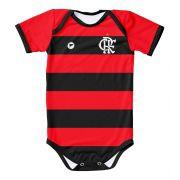 Body Infantil Proteção UV Torcida Baby - Flamengo