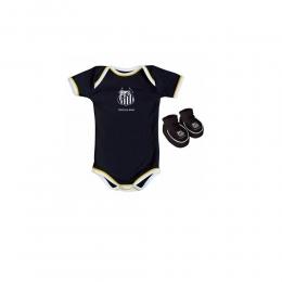 Body Infantil Masculino Torcida Baby - Santos