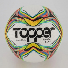 Bola de Futebol Topper Campo Samba TD1 Oficial 2020