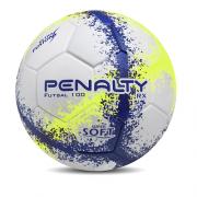 Bola Penalty Futsal 100 RX Infantil - Branco   Azul 01a8ef0540b85