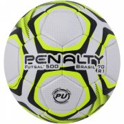 Bola Penalty Futsal 500 Brasil 70 R1 IX - Branco