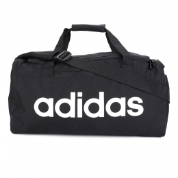 Bolsa mala Adidas Duffel Linear core duf G - preto